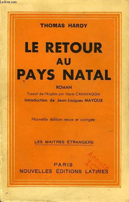LE RETOUR AU PAYS NATAL