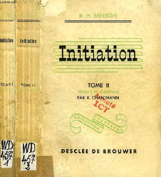 INITIATION, 2 TOMES