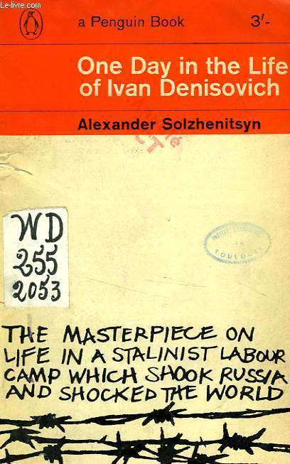 the different moods brought out in alexander solzhenitsyns life of ivan denisovich One day in the life of ivan denisovich solzhenitsyn explains through ivan denisovich that everything is managed by the camp commandant to the point that time.
