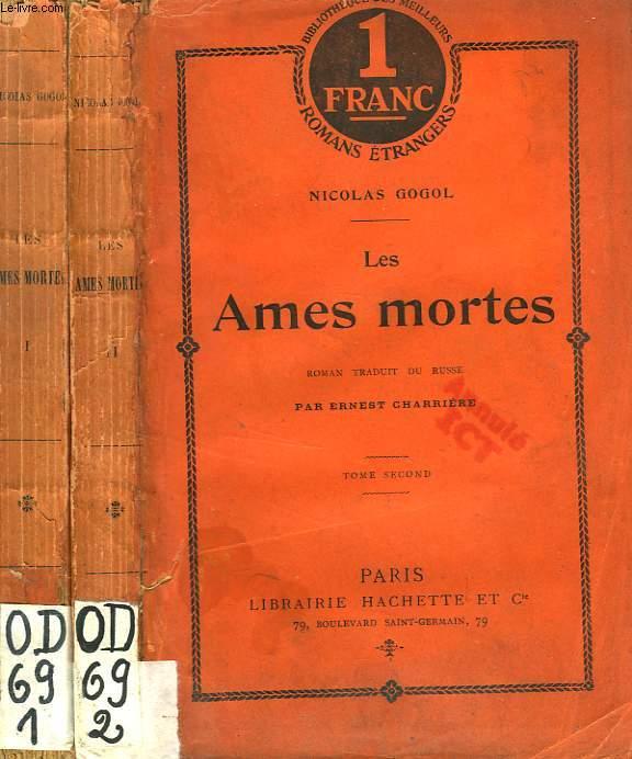 LES AMES MORTES, 2 TOMES