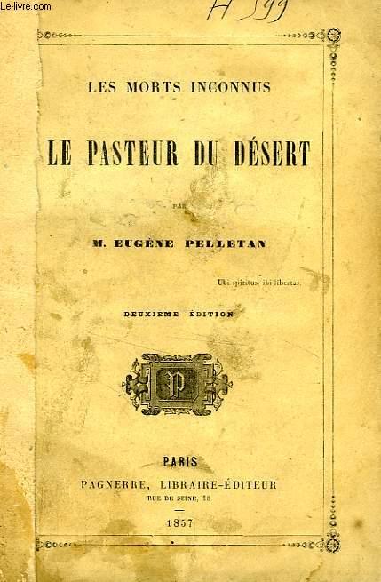 LE PASTEUR DU DESERT