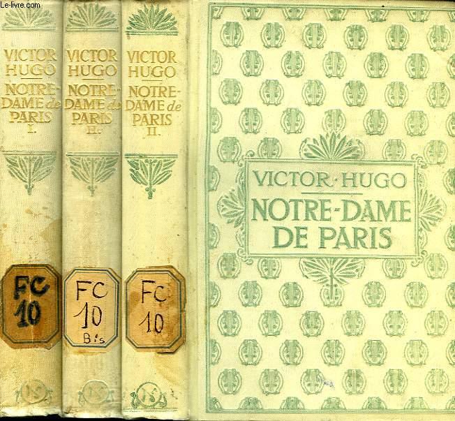 NOTRE-DAME DE PARIS, 1482, 2 TOMES
