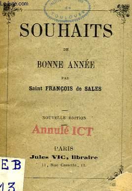 SOUHAITS DE BONNE ANNEE