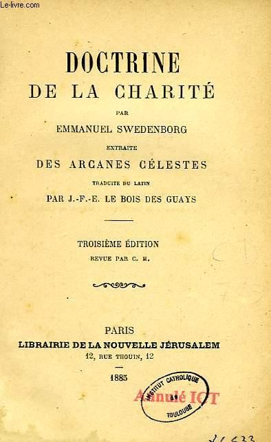 DOCTRINE DE LA CHARITE