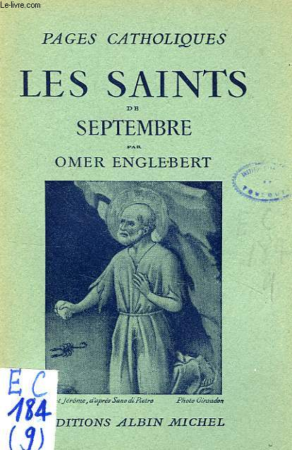 LES SAINTS DE SEPTEMBRE