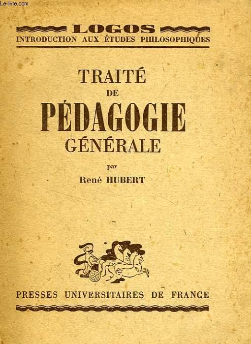 TRAITE DE PEDAGOGIE GENERALE