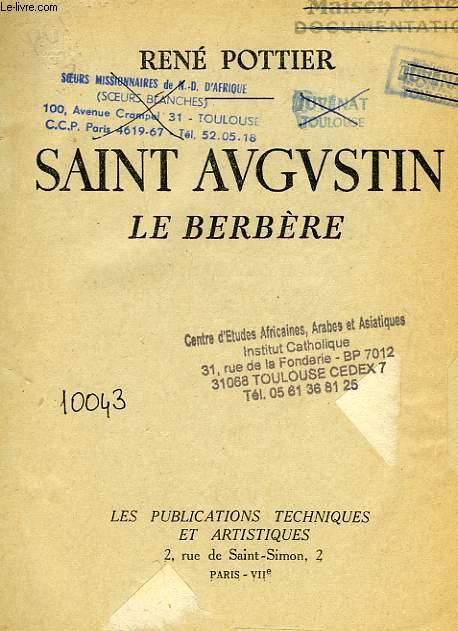 SAINT AUGUSTIN LE BERBERE