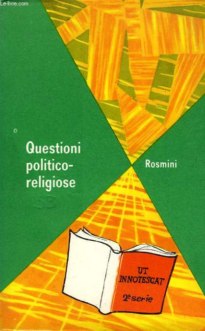 QUESTIONI POLITICO-RELIGIOSE