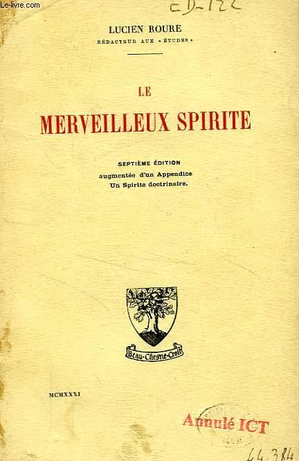 LE MERVEILLEUX SPIRITE