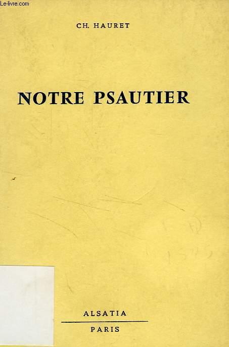 NOTRE PSAUTIER
