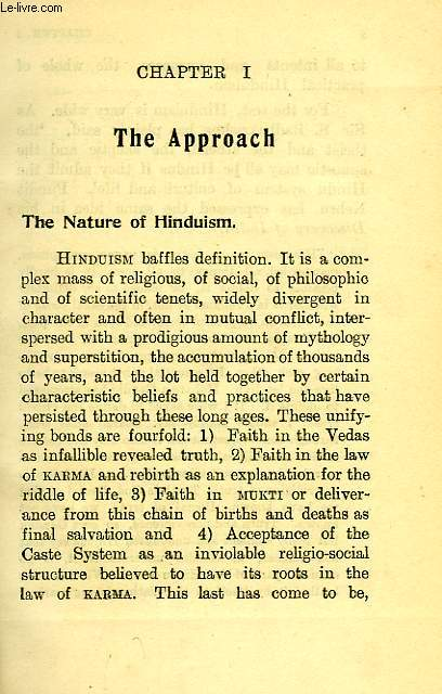 Hinduism in spotlight, vol. i, vedic hinduism