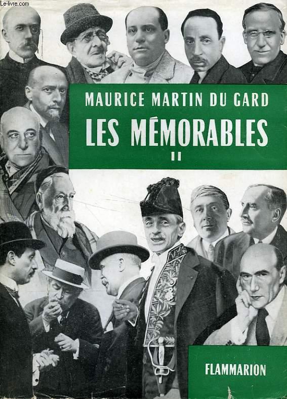 LES MEMORABLES, TOME II (1924-1930)