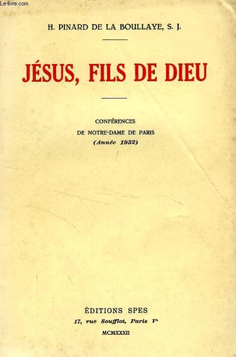 JESUS, FILS DE DIEU