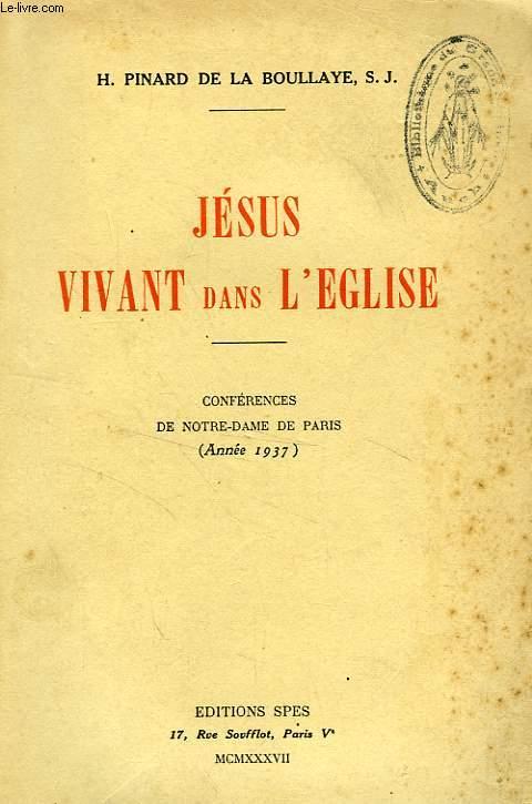 JESUS VIVANT DANS L'EGLISE