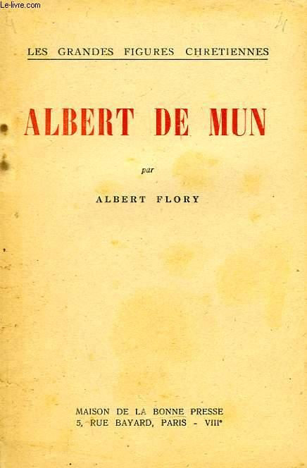 ALBERT DE MUN