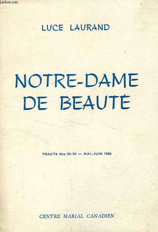 NOTRE-DAME DE BEAUTE