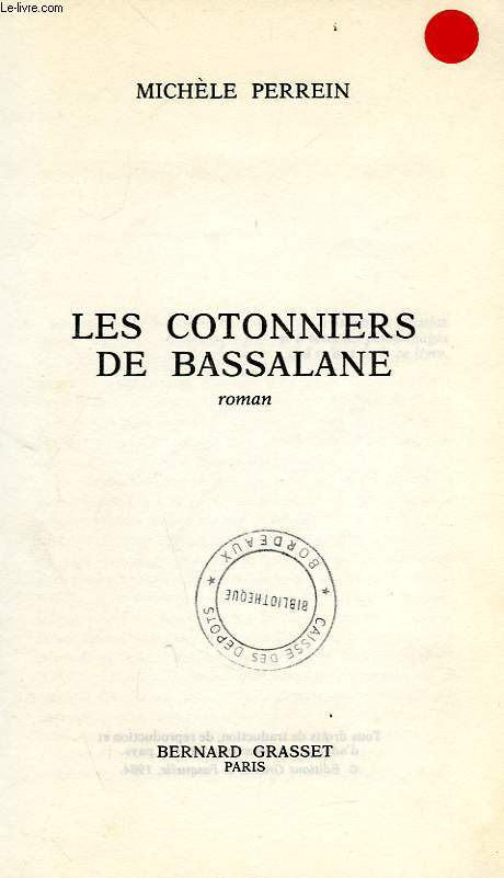 LES COTONNIERS DE BASSALANE