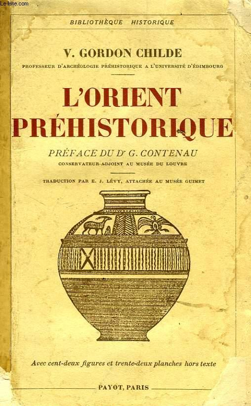 L'ORIENT PREHISTORIQUE