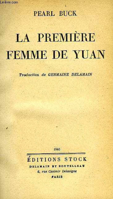 LA PREMIERE FEMME DE YUAN