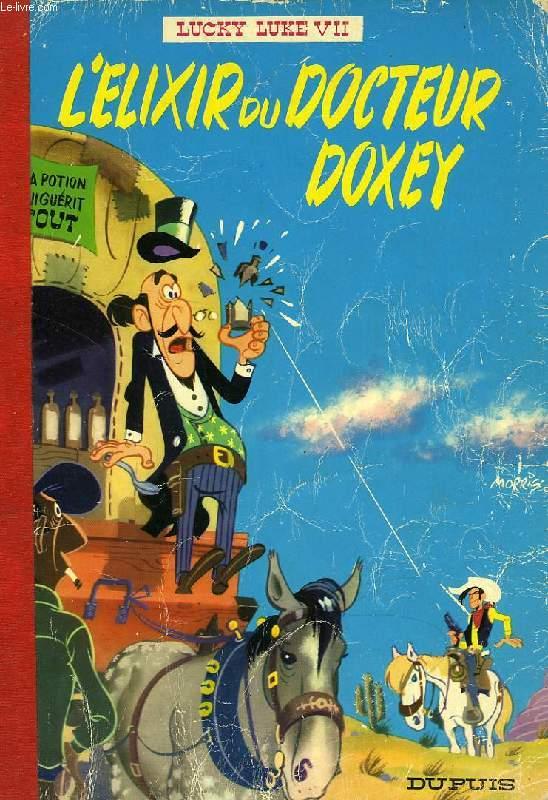 LUCKY LUKE, VII, L'ELIXIR DU DOCTEUR DOXEY