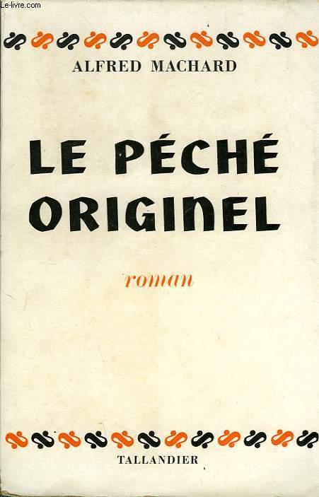 LE PECHE ORIGINEL