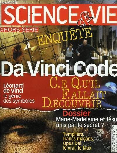 SCIENCE & VIE H.S., DA VINCI CODE