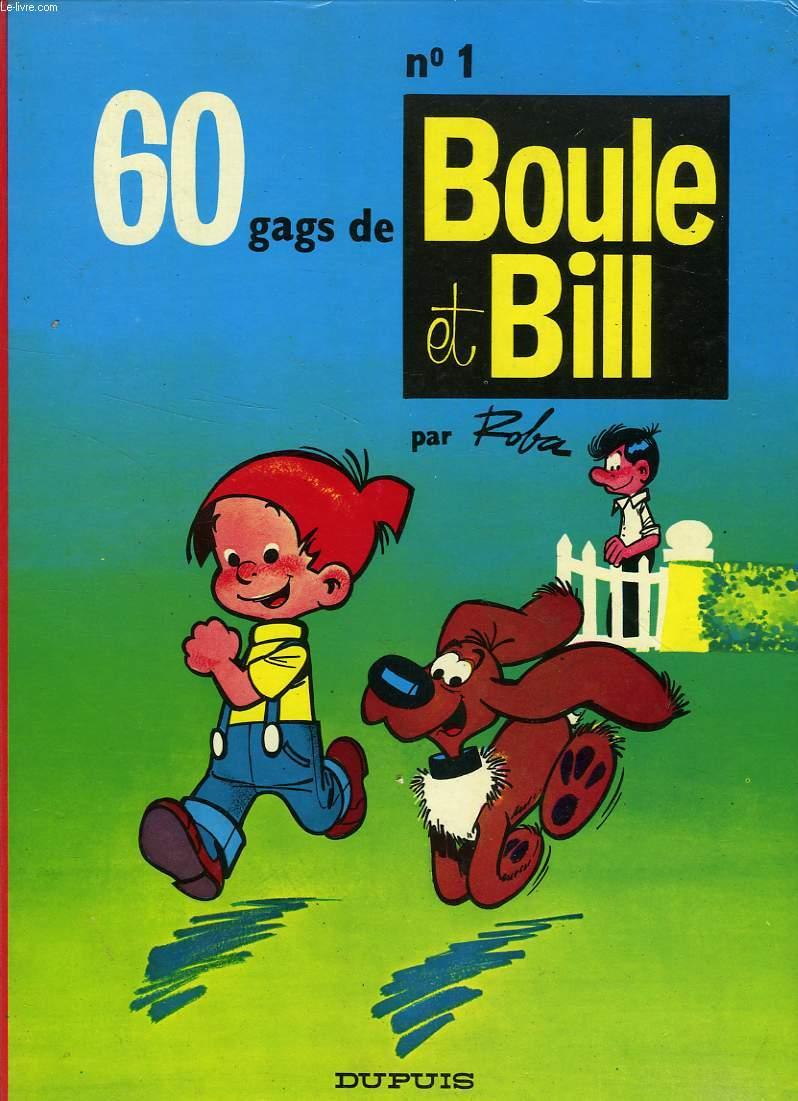 60 GAGS DE BOULE ET BILL, N° 1