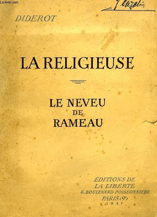 LA RELIGIEUSE, LE NEVEU DE RAMEAU