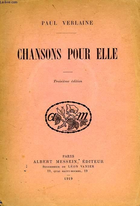 CHANSONS POUR ELLE