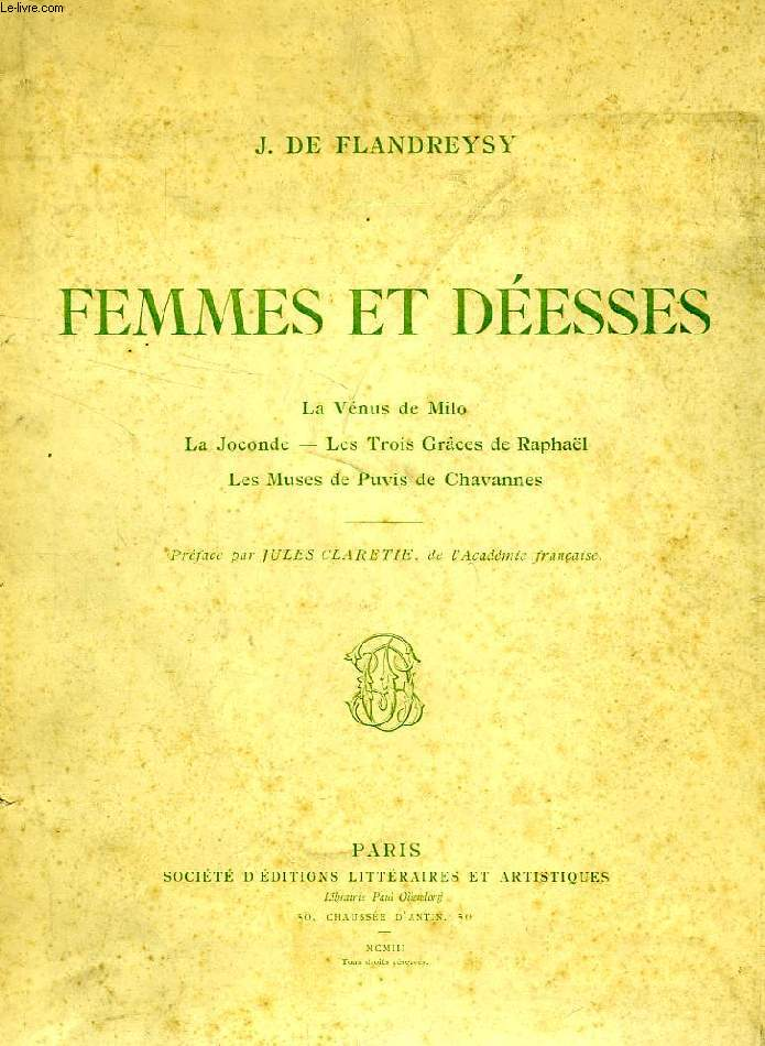 FEMMES ET DEESSES