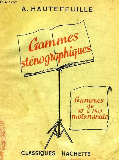 GAMMES STENOGRAPHIQUES