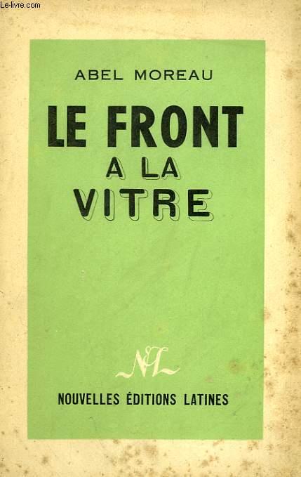 LE FRONT A LA VITRE