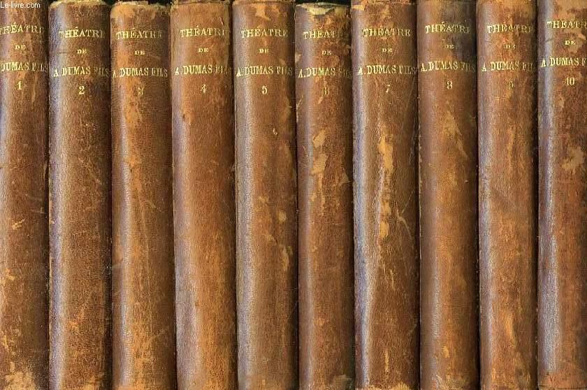 THEATRE COMPLET, AVEC PREFACES INEDITES, 10 TOMES
