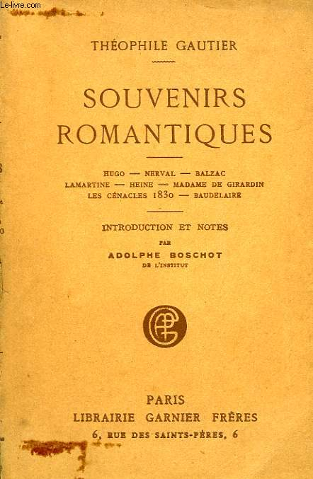 SOUVENIRS ROMANTIQUES