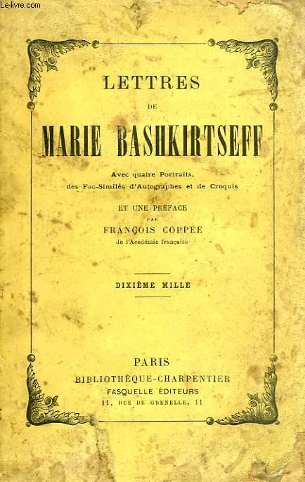 LETTRES DE MARIE BASHKIRTSEFF