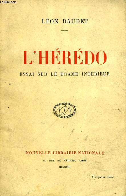 L'HEREDO, ESSAI SUR LE DRAME INTERIEUR