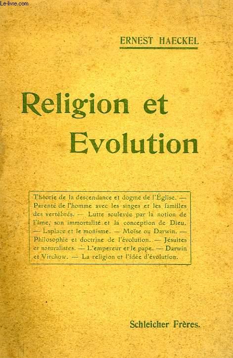 RELIGION ET EVOLUTION