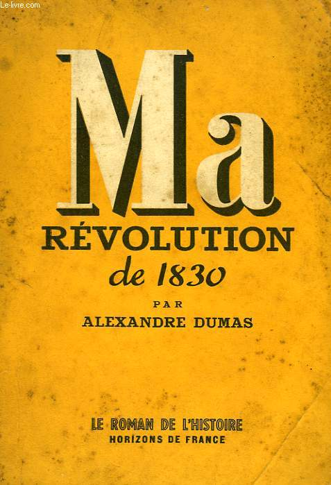 MA REVOLUTION DE 1830