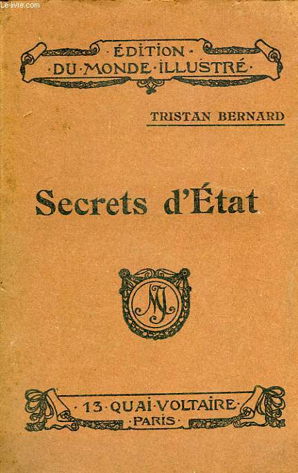 SECRETS D'ETAT