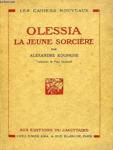 OLESSIA, LA JEUNE SORCIERE