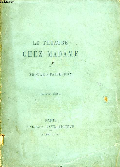 LE THEATRE CHEZ MADAME