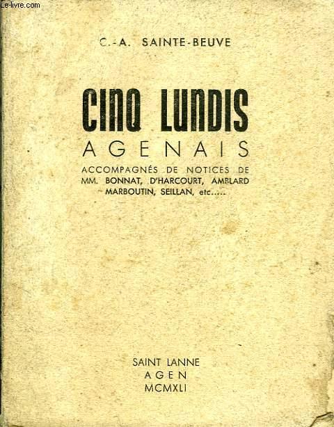CINQ LUNDIS AGENAIS, TOME II