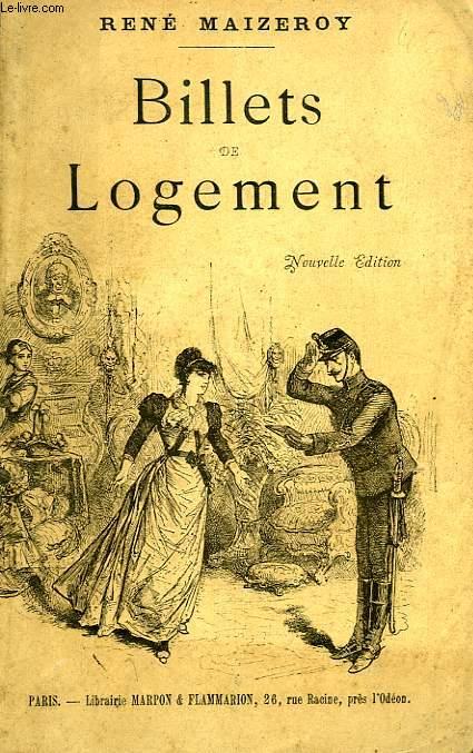 BILLETS DE LOGEMENT