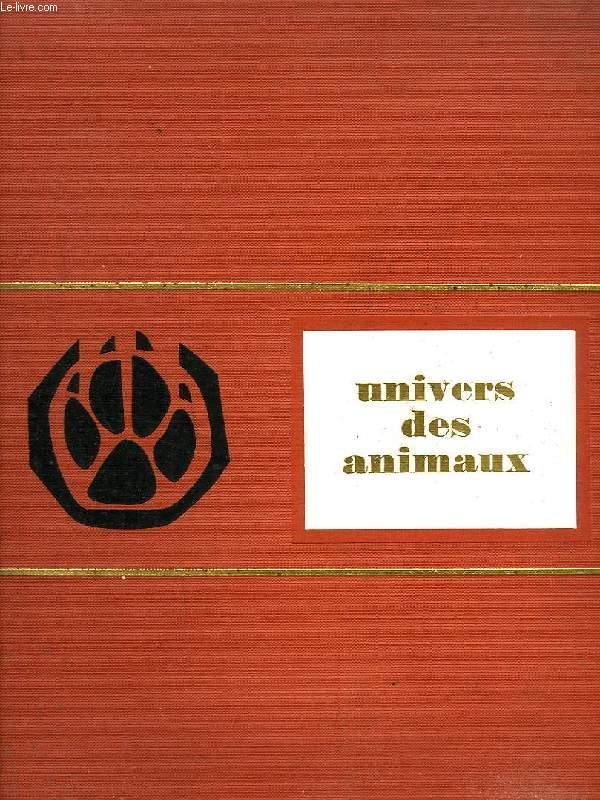 UNIVERS DES ANIMAUX
