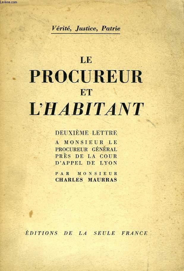 LE PROCUREUR ET L'HABITANT