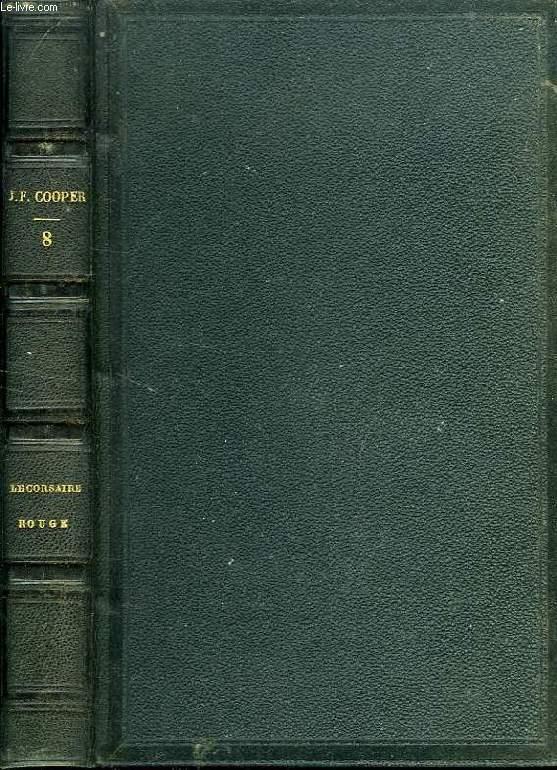 OEUVRS DE J. F. COOPER, TOME VIII, LE CORSAIRE ROUGE