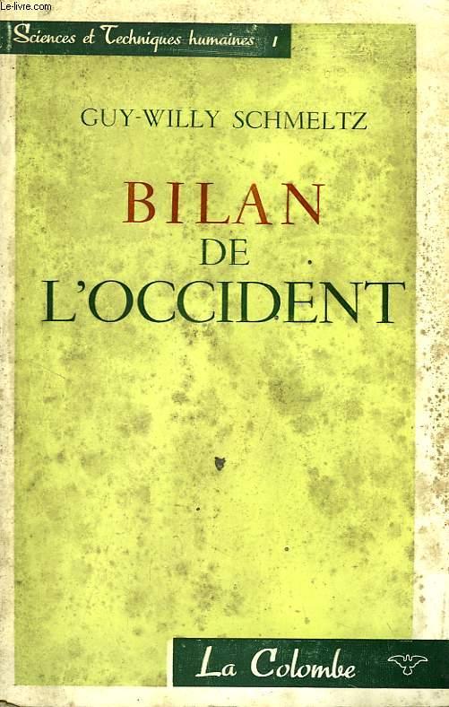 BILAN DE L'OCCIDENT