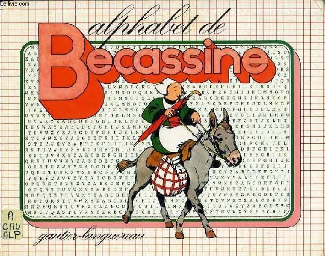 ALPHABET DE BECASSINE