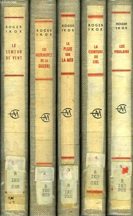 SI LE TEMPS..., 5 VOLUMES