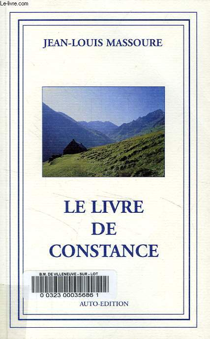 LE LIVRE DE CONSTANCE